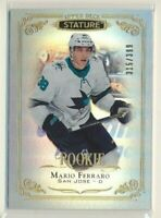 2019-20 Stature Rookie 145 Mario Ferraro /399 San Jose Sharks