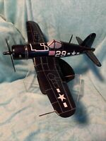 """Wooden Jolly Rogers VF- 17 F4U Corsair (No Box) About 14""""long Scale Unknown"""