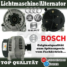 AUDI FORD SEAT SKODA VW LICHTMASCHINE ALTERNATOR 120A ORIGINAL BOSCH !!!