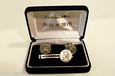 カフト.タイ止め 3点セット Set 3p. Cufflinks and tie clip NIKKA Yoichi