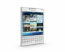 New Blackberry Passport SQW100-1 4G 32GB Phone 3GB Ram White+Gift 2 Year Wty