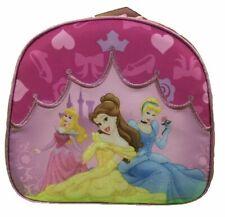 Princess Aurora Belle Cinderella Cloth Insulated Fabric Lunch Box - Pink