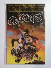Critters #50 NM (Fantagraphics,1990) Duckula, and Domino! RARE FINAL ISSUE!