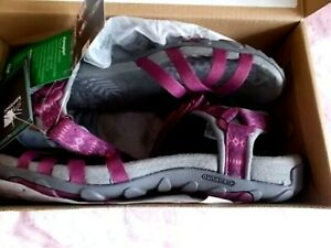 KARRIMOR SALINA RASPBERRY PINK SANDALS SIZE 5 NEW WITH TAGS !!