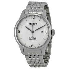 Tissot Le Locle Chronometre Silver Dial Stainless Steel Mens Watch