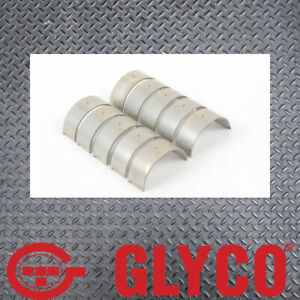 Glyco Set of 4 +010 Conrod Bearings suits Volvo B4204T3 Turbo
