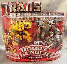 Hasbro Robot Heroes Movie series Armor Bumblebee & Starscream  new in pack