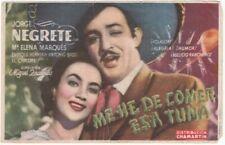 Image / programme—Film mexicain «Me he de comer esa tuna»—Jorge Negrete—1945