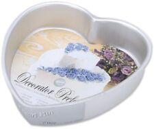 "Wilton 8"" Heart Cake Pan Decorator Preferred Baking Party Wedding Decorating Tin"
