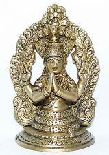 """PATANJALI BUDDHA """"GOTT DES YOGA"""" 13CM HOCH INDIEN MEDITATION BUDDHISMUS STATUE"""