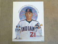 CLEVELAND INDIANS BASEBALL YEARBOOK - 1992 - NEAR MINT