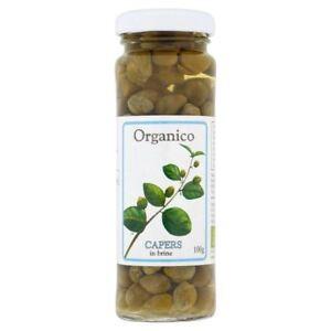 Organico Organic Capers in Brine 100g