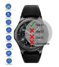 Pack Protector de Pantalla Cristal Templado Vidrio para Samsung Galaxy Gear S3