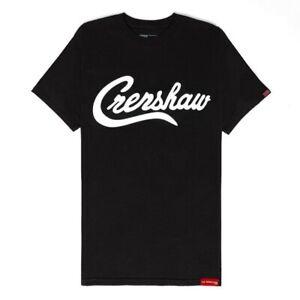 NEW THE MARATHON CLOTHING CRENSHAW BLACK T-SHIRT SZ XL