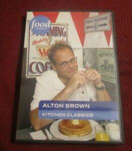 Alton Brown: Kitchen Classics RARE 3 DVD set Good Eats