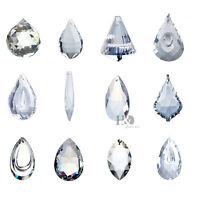 12PCS Clear Crystal Hanging Ball Prism Suncatcher Feng Shui Chandelier Pendants