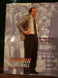 1994-95 Auburn Tigers Basketball Media Guide