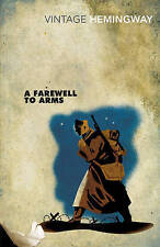 A Farewell to Arms by Ernest Hemingway Paperback Book - very good condition