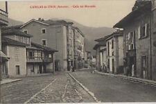 Tarjeta Postal. Cangas de Onis. (Asturias). Calle del Mercado