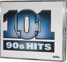 101 Nineties Hits 5 CD of 1990s Tracks Original EMI Music Song Recordings