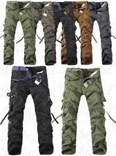 Herren Militär lässig Cargo Hose pants/Trousers Freizeithose Kampfhose Neu H15