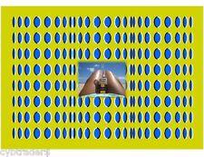 Optical Illusion Corona Beer Girl on Beach  Refrigerator / Tool Box  Magnet