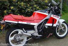 SUZUKI RG500 RG500CH MK2 COMPLETE PAINT DECAL SET