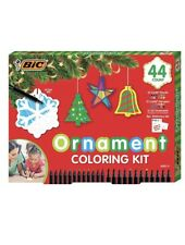BIC® 44-Piece Holiday Ornament Gift Set