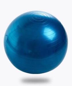 Balance Ball Gym Exercise Fitness Pump Anti Burst Yoga Workout Pilates W Trainer