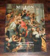 CATALOGUE VENTE 2012 Millon TABLEAUX & MOBILIER XVI° AU XIX° Var & Ecole du Nord