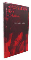 Joyce Carol Oates ANONYMOUS SINS & OTHER POEMS  1st Edition 2nd Printing