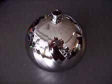 Glas Lampenschirm Ersatzglas Kugel chrom/silber G4 Lochmaß Fassung ø 11mm