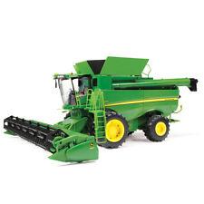 NEW John Deere Big Farm S690 Combine w/Corn and Draper Heads, 1/16,   LP71700
