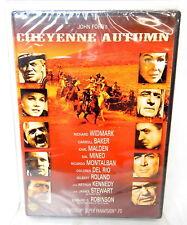 2C DVD CHEYENNE AUTUMN John Ford Western Film Widmark Stewart SEALED!