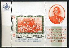 INDONESIE: ZB 594 MNH** Blok 8 1967 Indonesische schilder Raden Saleh