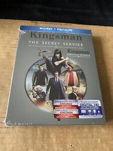 Kingsman The Secret Service Reg A Blu Ray Steelbook NEW & SEALED US Import RARE!