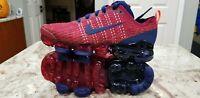 Nike Vapormax Flyknit 3 GS Red Blue Running Shoes BQ5238-602 4.5Y Women's 6. C5