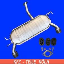 KIA Sportage (JEKM) 2.0 CRDi Endschalldämpfer Auspuff Montagesatz
