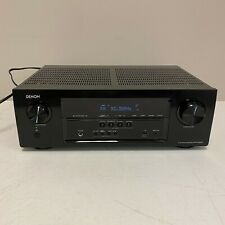 Denon AVR-S530BT 5.2 Channel 4K Ultra HD AV Receiver Tested Working No Remote