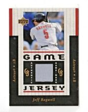 JEFF BAGWELL MLB 2005 UPPER DECK GAME JERSEY (HOUSTON ASTROS)