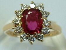 18 Carat Ring Vintage Fine Jewellery (1980s)