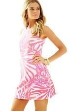 NWT Lilly Pulitzer Callie Shift Dress Pink Sun Ray size Medium $168