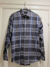 Patagonia Small Plaid Organic Cotton Pima Flannel Shirt New without tags
