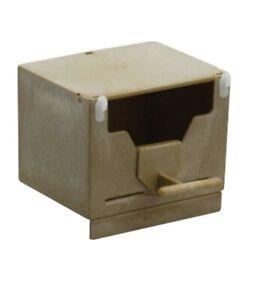 Plastic Finch Nest Box Small- open front