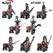 Ciudad, Castillo, red Dragon Centauro Caballeros de 8 Mini Figuras De Caballo Ajuste Lego Reino Unido Stock