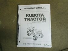 Kubota Bx1850 Bx2350 Bx 1850 2350 Tractor Amp Mower Owners Amp Maintenance Manual