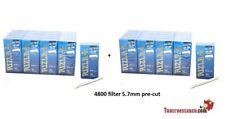 4800 filtri Ultra Slim Rizla  di 5,7 mm - 40 scatole da 120 filtri