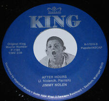 R&B Blues 45~JIMMY NOLEN~After Hours / ALBERT KING~Don't Throw Your Love~King