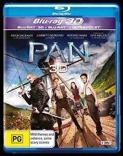 PAN : NEW Blu-Ray 3D / 2D / UV