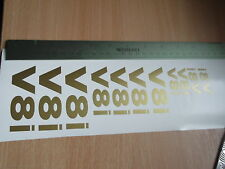 Land Rover Discovery V8i Tailgate  wing  window  sticker set